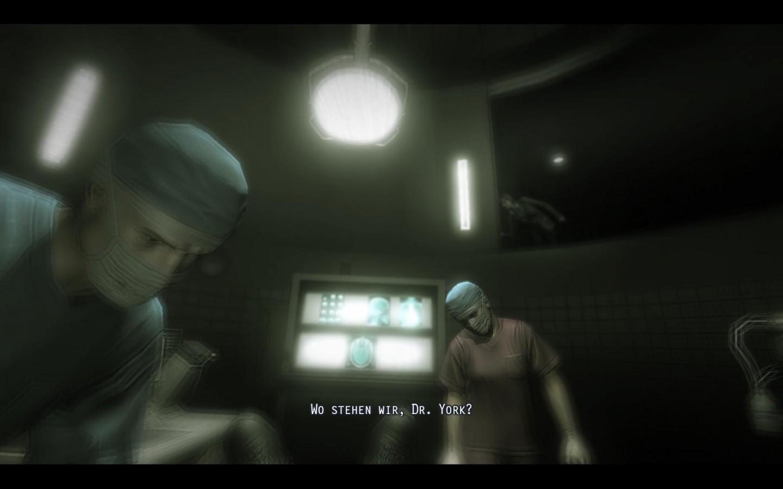Spieletest: Fear 2 - Action, Angst und Alma - Zwischendurch muss Becket eine Operation erleiden.