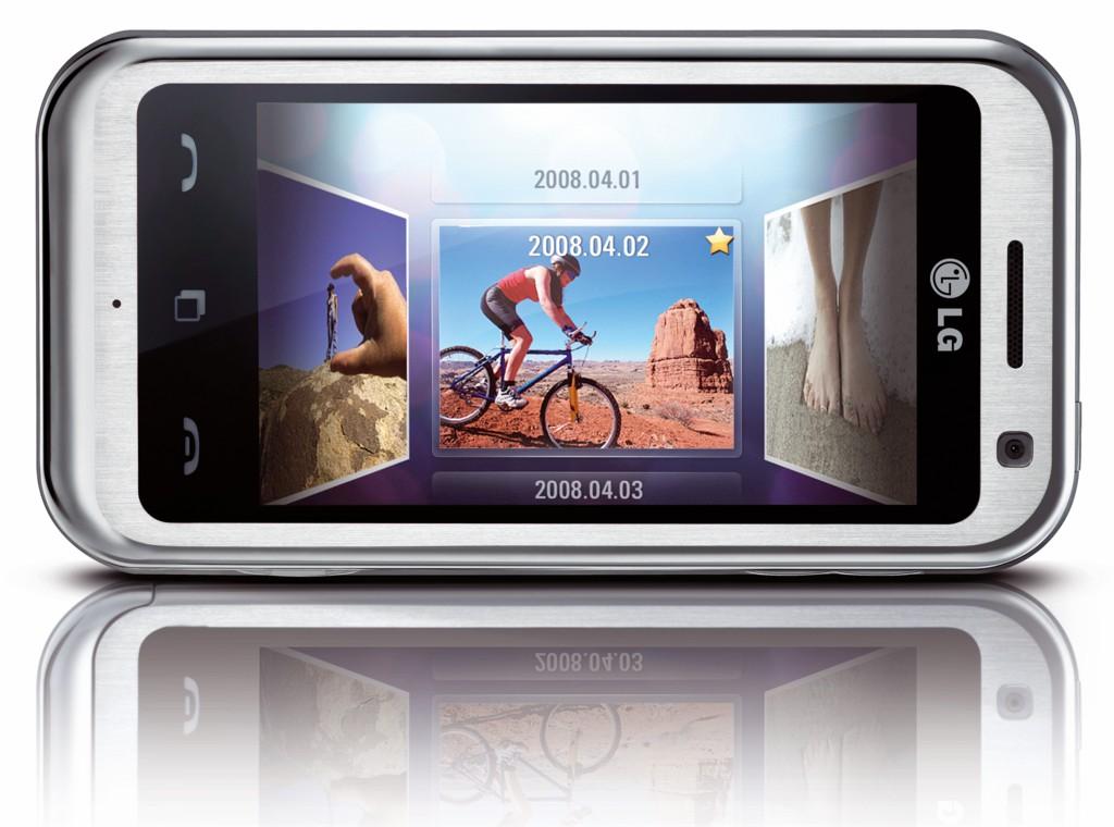 Ersteindruck: LGs Touchscreenhandy Arena (Update) - LG KM900
