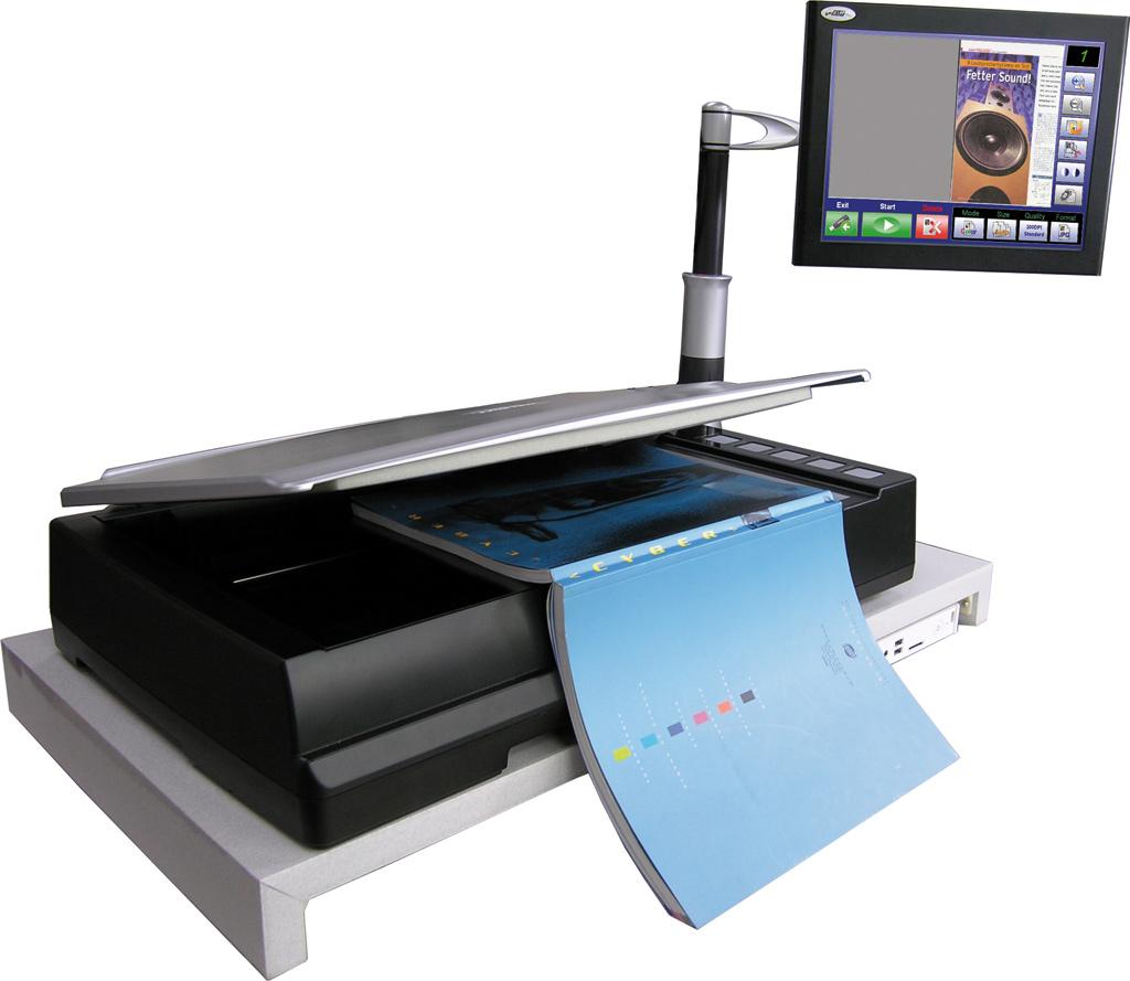 Buchscanner im A3-Format mit Asus Eee Top