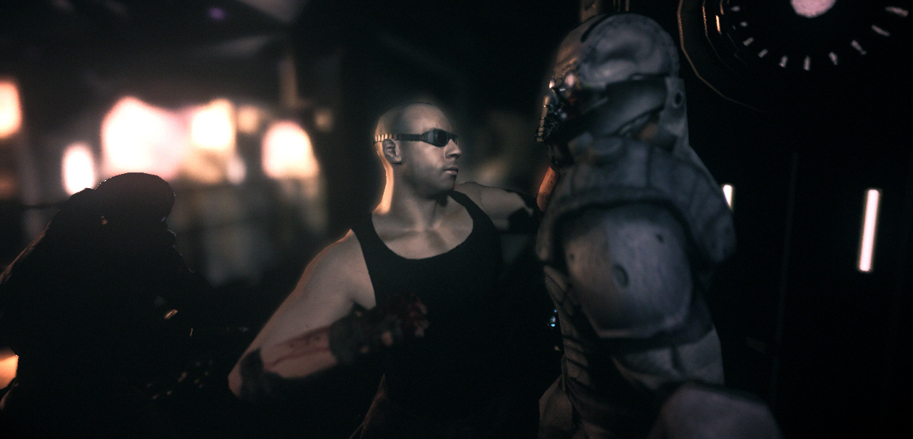 """DRM-Wirbel um """"Chronicles of Riddick""""-Spiel - The Chronicles of Riddick: Assault on Dark Athena"""
