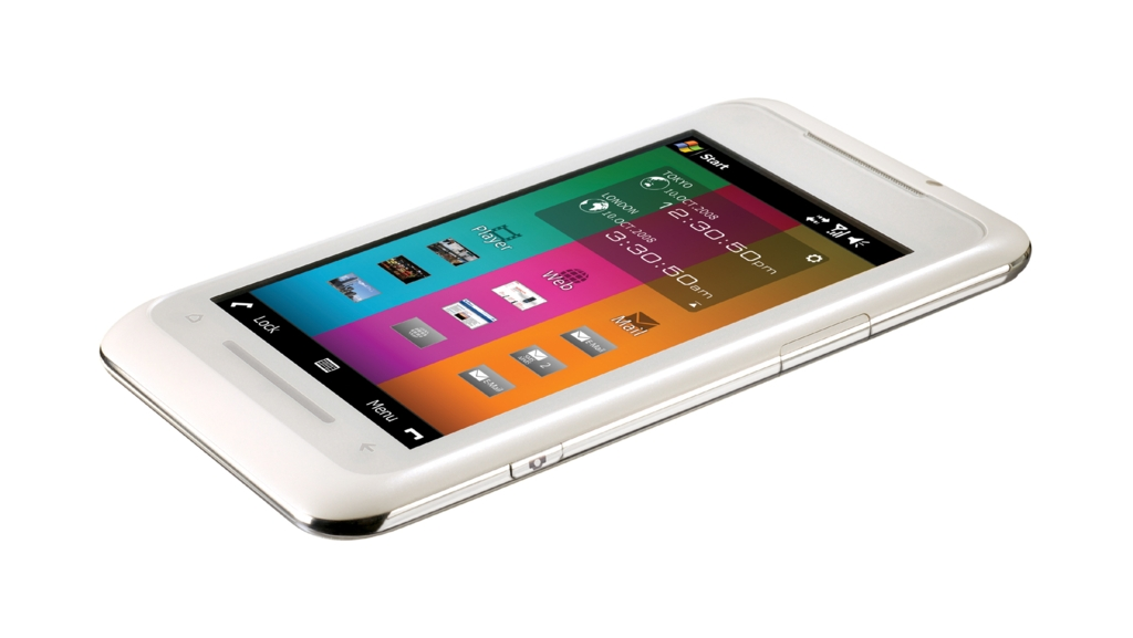 Toshiba-Smartphone TG01: Flach, schnell und großes Display - Toshiba TG01