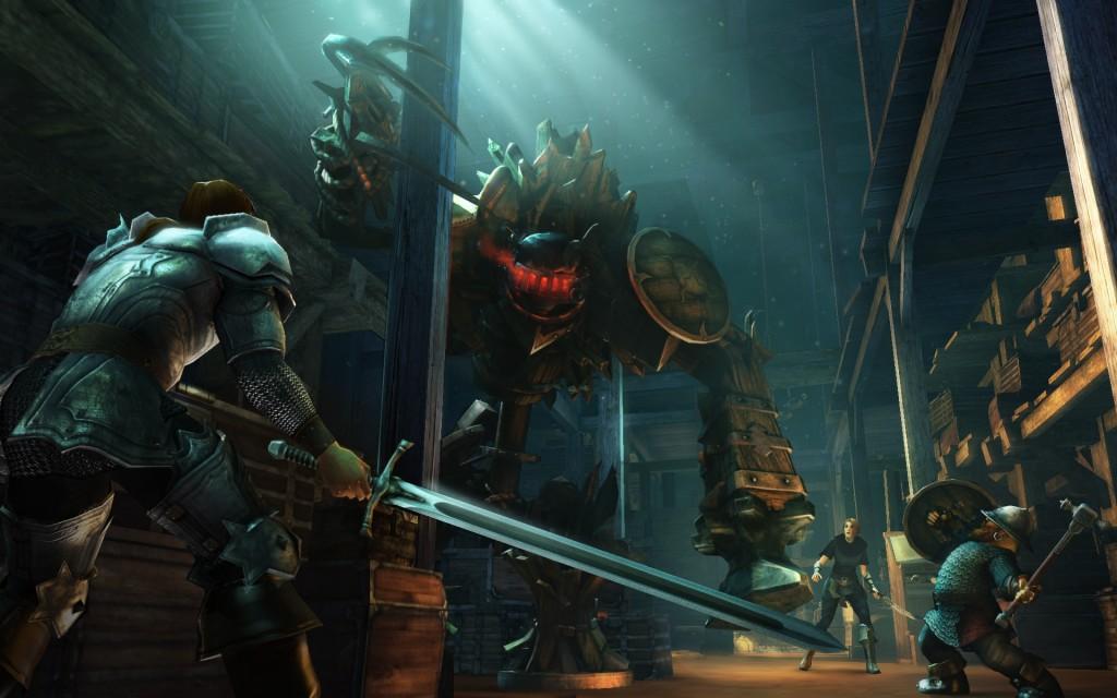 Am Fluss der Zeit: Drakensang erhält ein Prequel - Screenshots  Am Fluss der Ze...