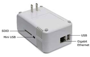 Linux-Heimserver im Steckernetzteil - Marvells Plug-Computer-Referenzdesign SheevaPlug