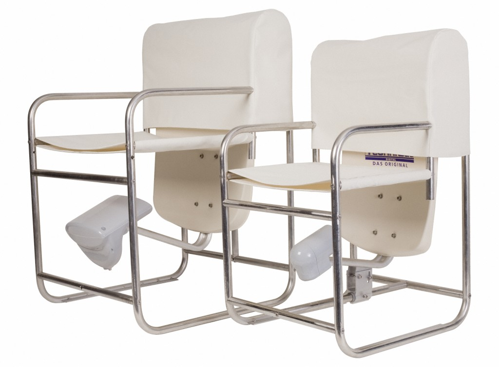 Sat-Stuhl für den Balkon - Technisat Sat-Stuhl