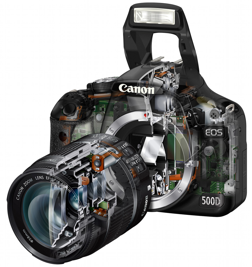 EOS 500D: 15,1 Megapixel und HD-Videos in der Hobbyklasse - Canon EOS 500D