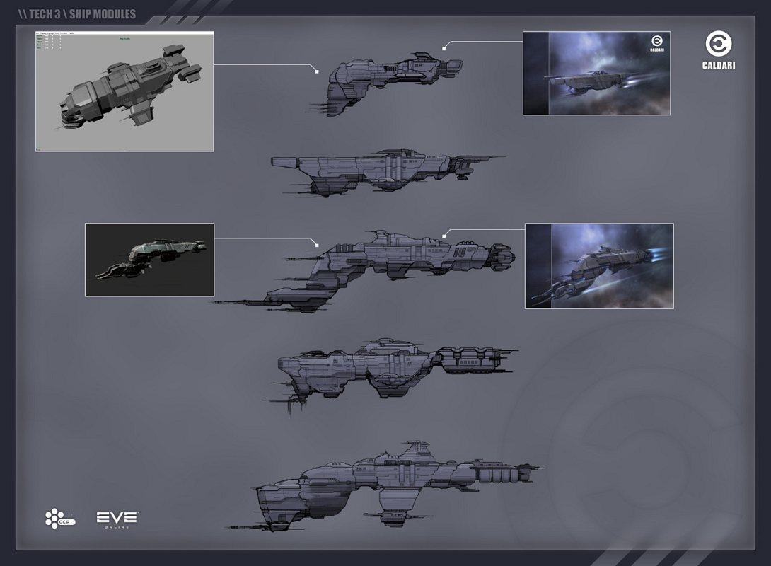 Eve Online Apocrypha - Tech-3-Schiffe und noch mehr Sterne - Modularer aufbau der Tech-3-Schiffe.