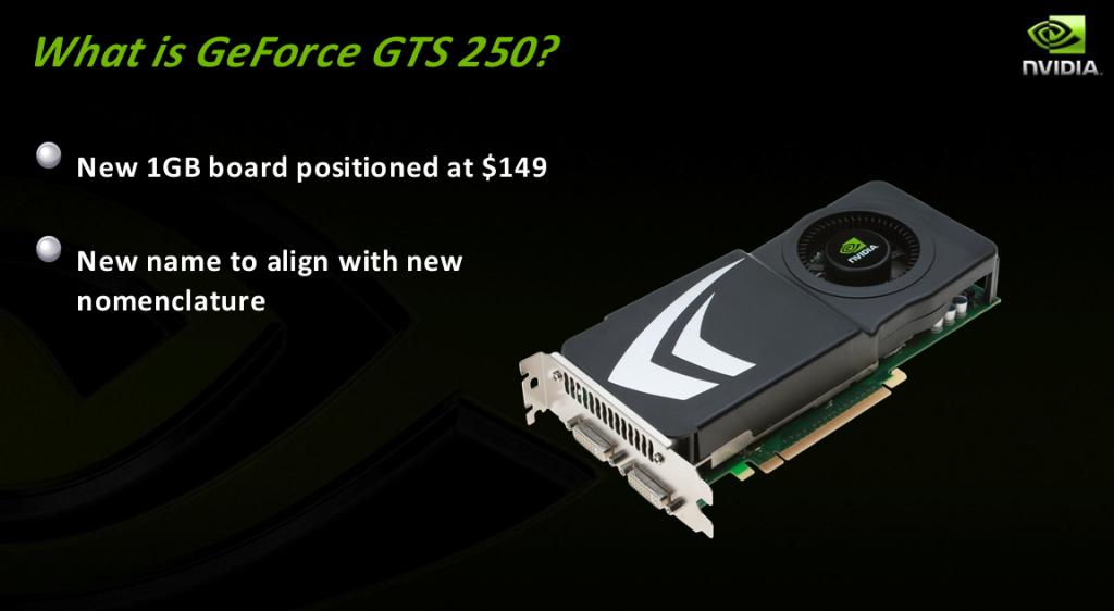 Nvidia kündigt Geforce GTS-250 und GTX-280M an - Preis der GTS-250