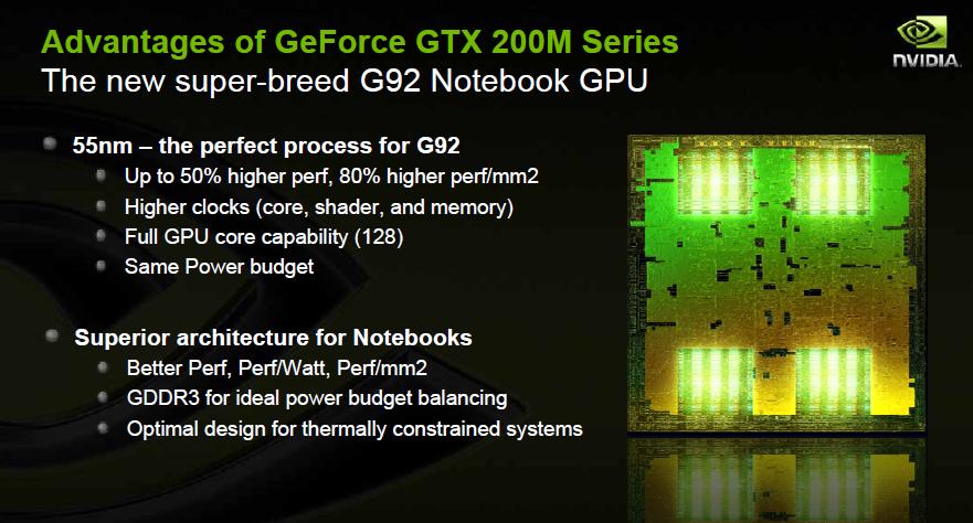 Nvidia kündigt Geforce GTS-250 und GTX-280M an -
