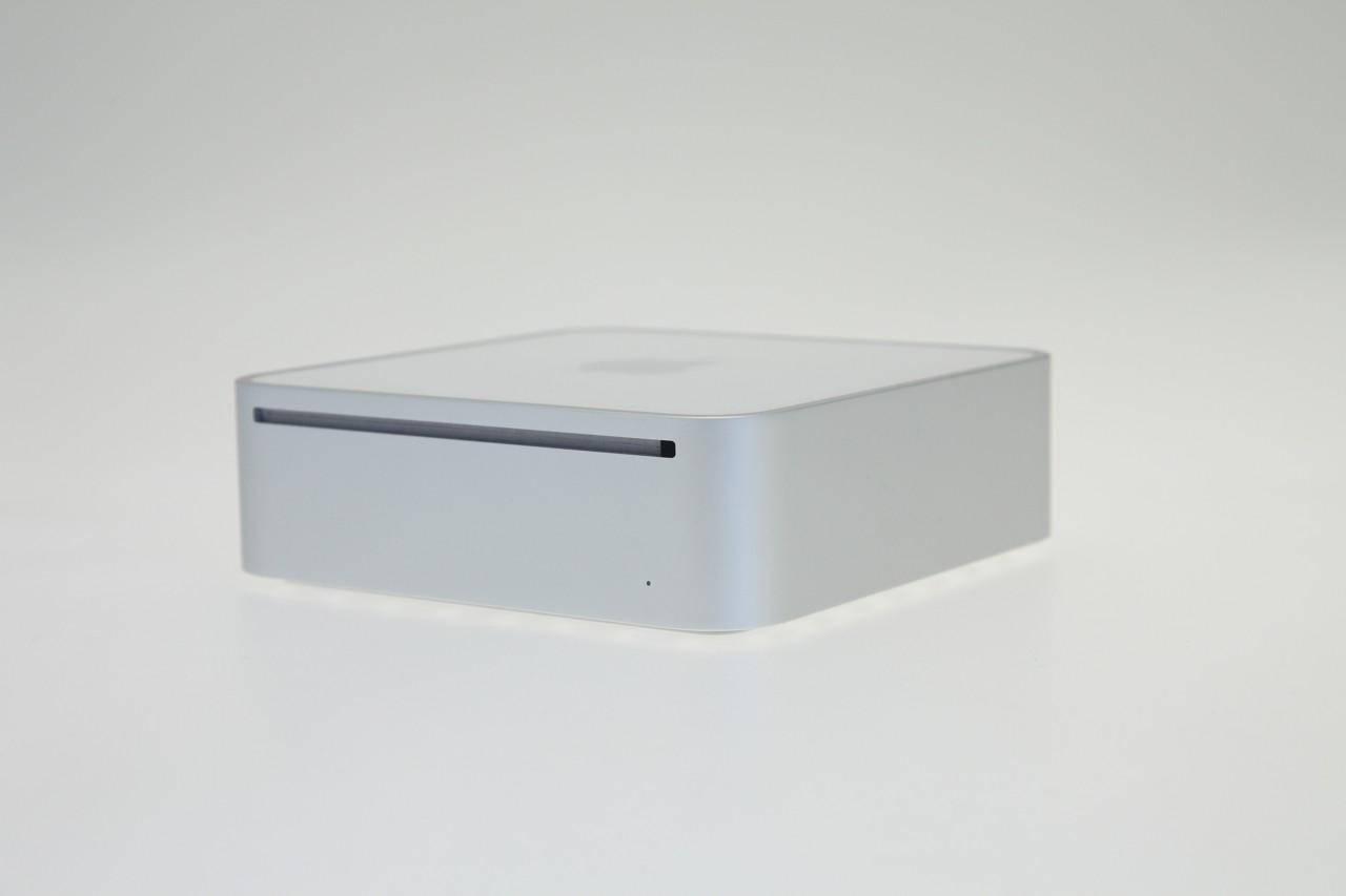 Test: Mac mini mit Dualdisplay und Geforce-Grafik -