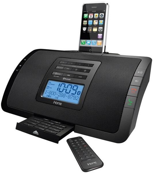 iPhone-Dock mit Bluetooth und Freisprecheinrichtung