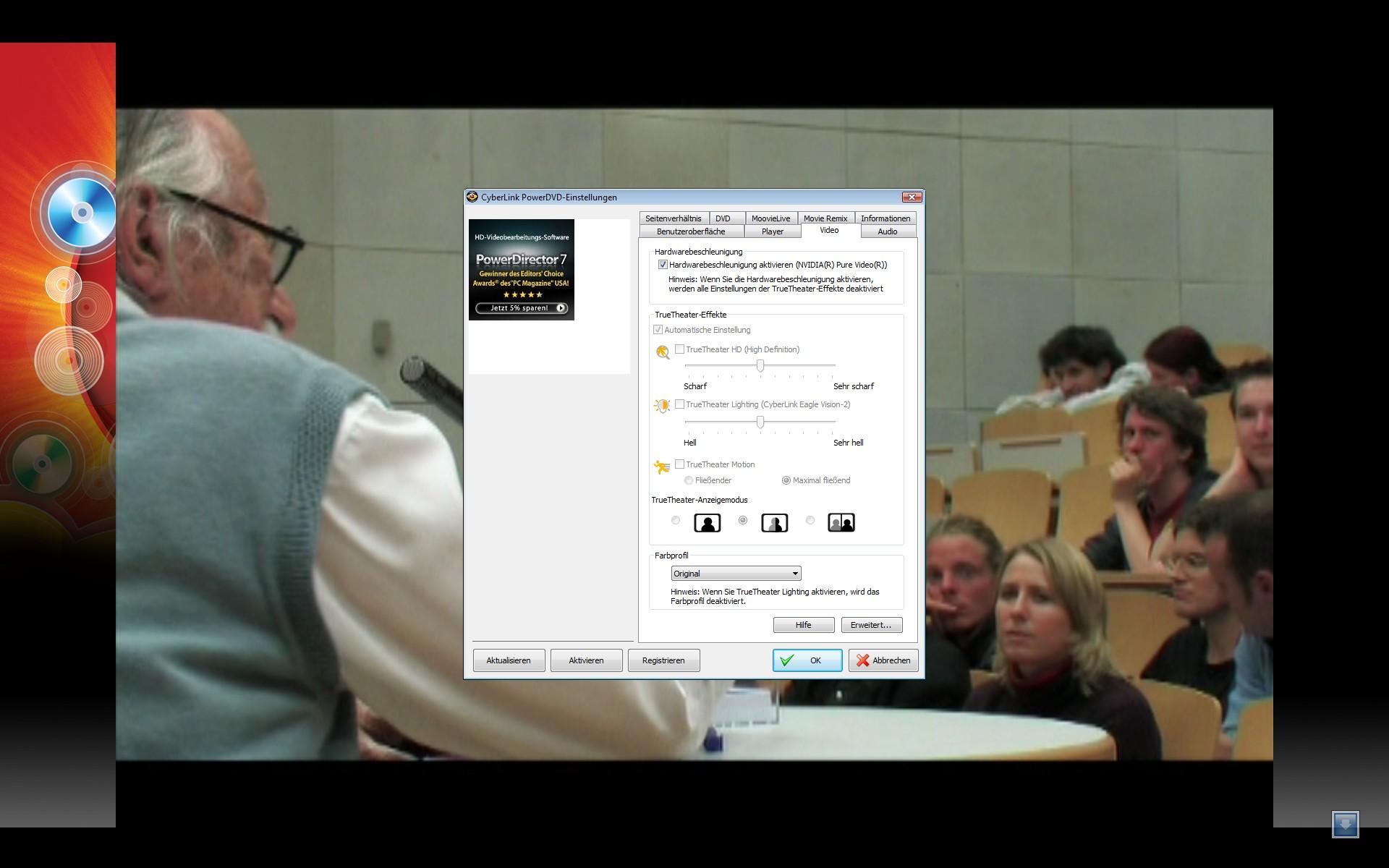 PowerDVD 9 skaliert DVDs und unterstützt bald CUDA -