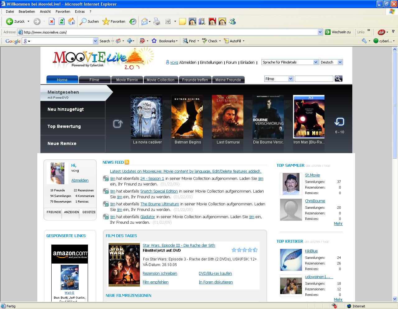 PowerDVD 9 skaliert DVDs und unterstützt bald CUDA - PowerDVD-Community MoovieLive
