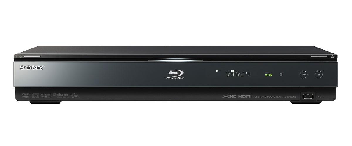 Neue Blu-ray-Player von Sony - einer davon mit WLAN - Sony BDP-S560 - Blu-ray-Player und Nachfolger des BDP-S550