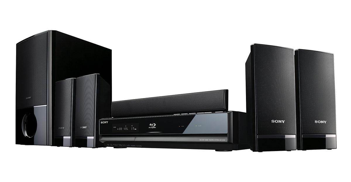 Neue Blu-ray-Player von Sony - einer davon mit WLAN - Sony BDV-E300 - Heimkinosystem mit Blu-ray-Player