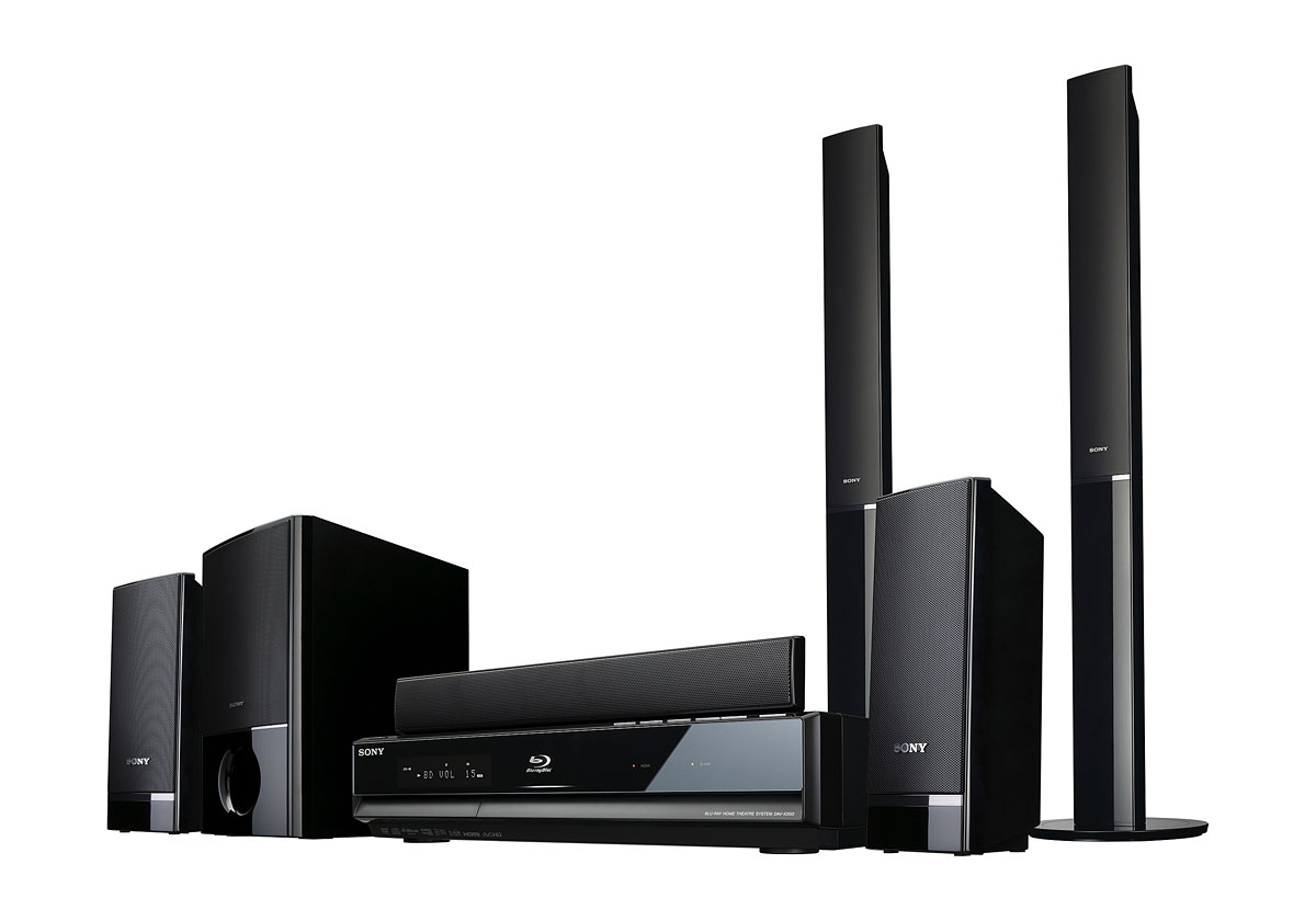 Neue Blu-ray-Player von Sony - einer davon mit WLAN - Sony BDV-E500W - Heimkinosystem mit Blu-ray-Player
