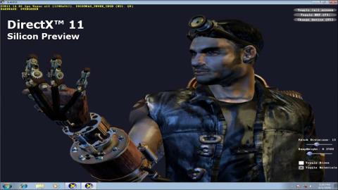 DirectX-11-Demo aus dem SDK auf AMD-GPU