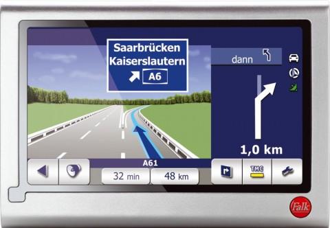 Falk Navigator 9.0 mit Echt-Sicht-Funktion