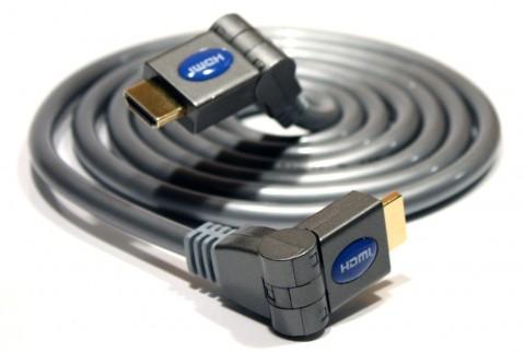 G&BL-HDMI-Kabel mit schwenkbaren Steckern