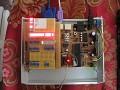 Links mit LEDs ein Busmonitor für Hive