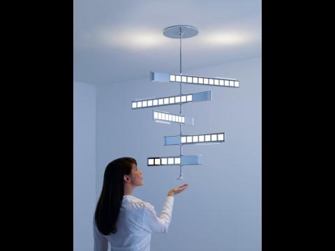 Philips-OLED-Chandelier (Deckenbeleuchtung) mit Benutzerinteraktion