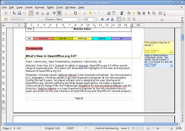 OpenOffice.org 3.1 ist fertig -