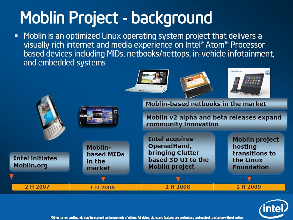 Intel: Nächste Atom-Generation angeblich zum Jahreswechsel - Geschichte von Mobilin