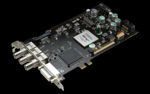 Quadro SDI Output: Der PCIe-Anschluss dient nur als Halterung