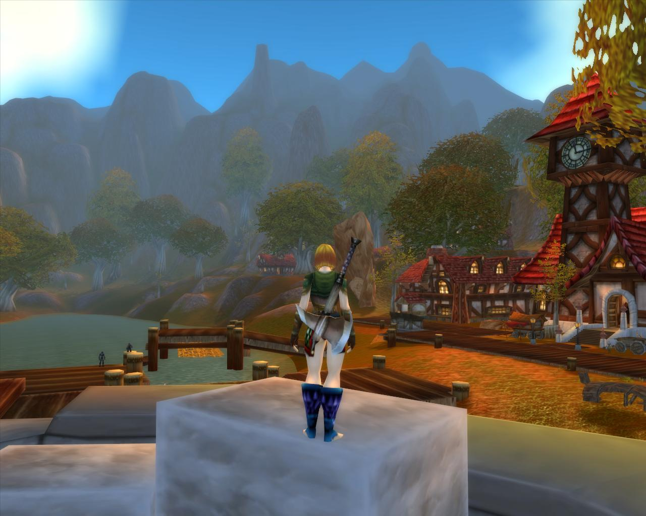"""World of Warcraft hat jetzt """"Ultra""""-Grafik - WoW - Grafikeinstellungen """"Mittel"""""""
