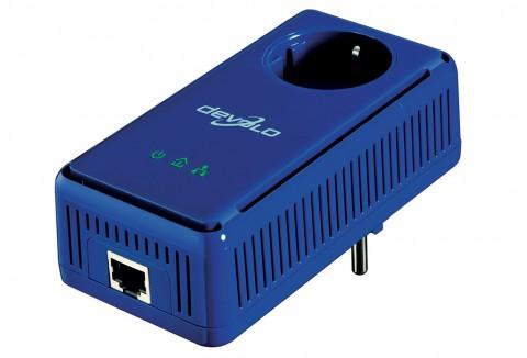 Devolo dLAN 85 HS Plus - Homeplug-Adapter mit durchgeschleifter Steckdose