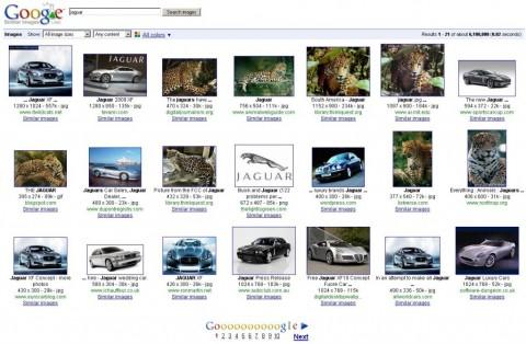 Raubkatze oder Auto - Similar Images ermöglicht die Suche nach ähnlichen Motiven.