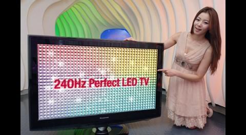 240-Hz-Fernseher von LG mit LED-Backlight und bis zu 55 Zoll Bilddiagonale