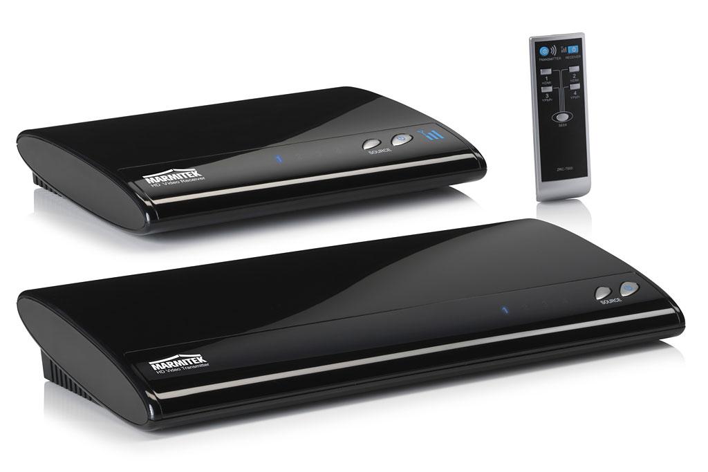 GigaVideo800 HDMI - Marmitek funkt HDMI durchs Wohnzimmer - GigaVideo800 HDMI - Wireless-HDMI-Adapter von Marmitek
