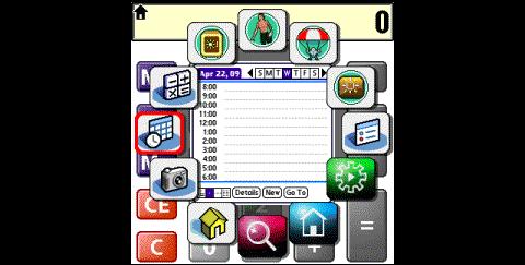 TealWheel 1.0 - Anwendungsstarter für PalmOS