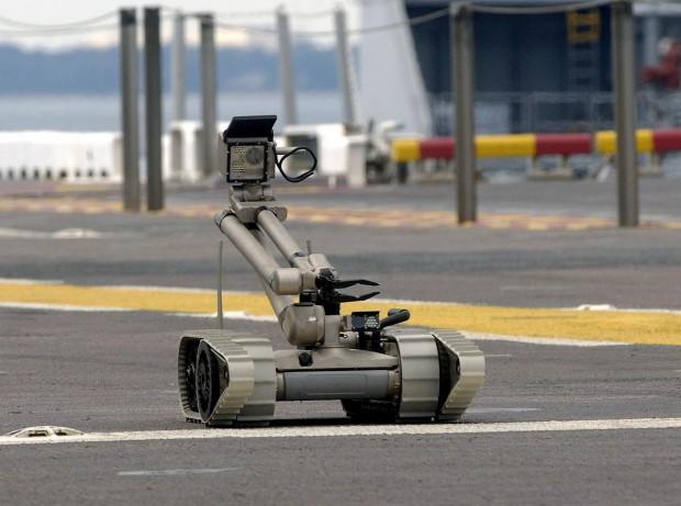 PackBot - dieser Roboter entschärft unter anderem Sprengsätze (Foto: DoD)