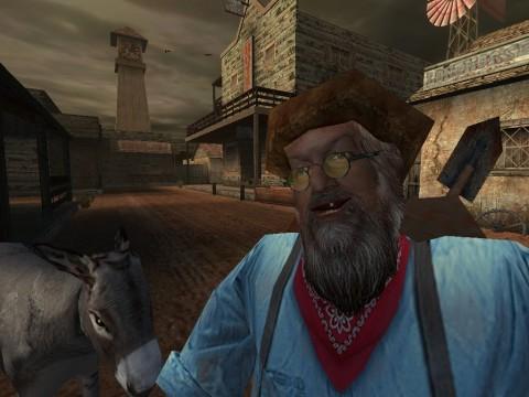 1999 veröffentlichter Screenshot aus Version mit Unreal-Engine