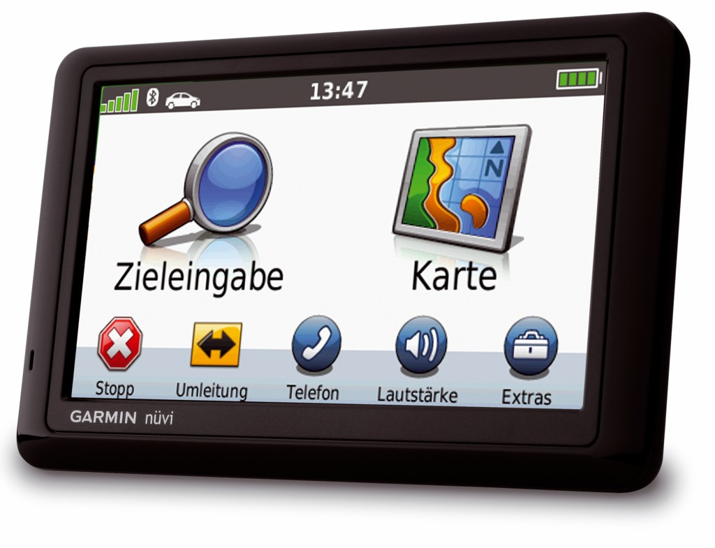 Garmin nüvi 1490T: Navigationsgerät hilft Kraftstoff