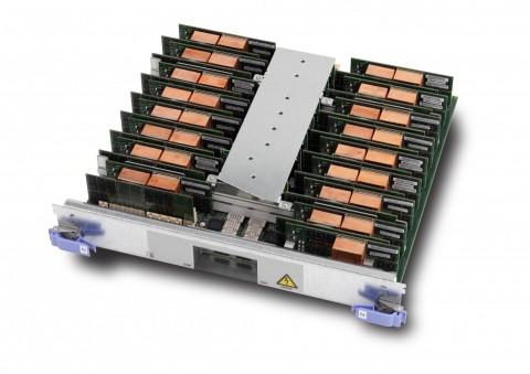 Bausteine des Blue-Gene-Supercomputer