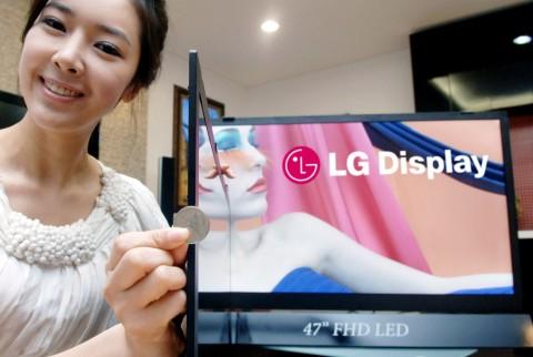 Dünnes LCD-Panel von LG