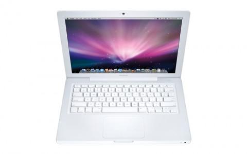 Weißes Macbook mit Nvidia-Chipsatz