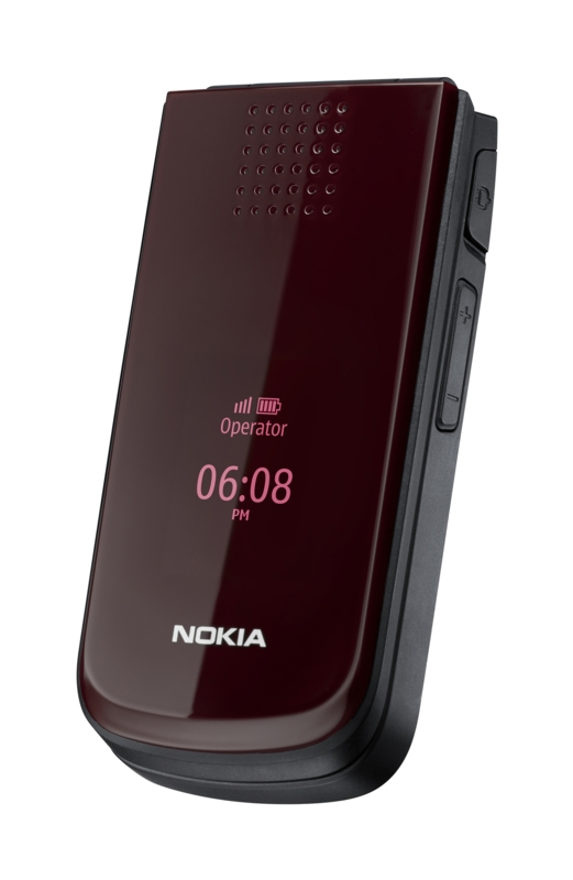 Nokia 7020: Doppeltippen aktiviert verstecktes Handydisplay - Nokia 2720 fold