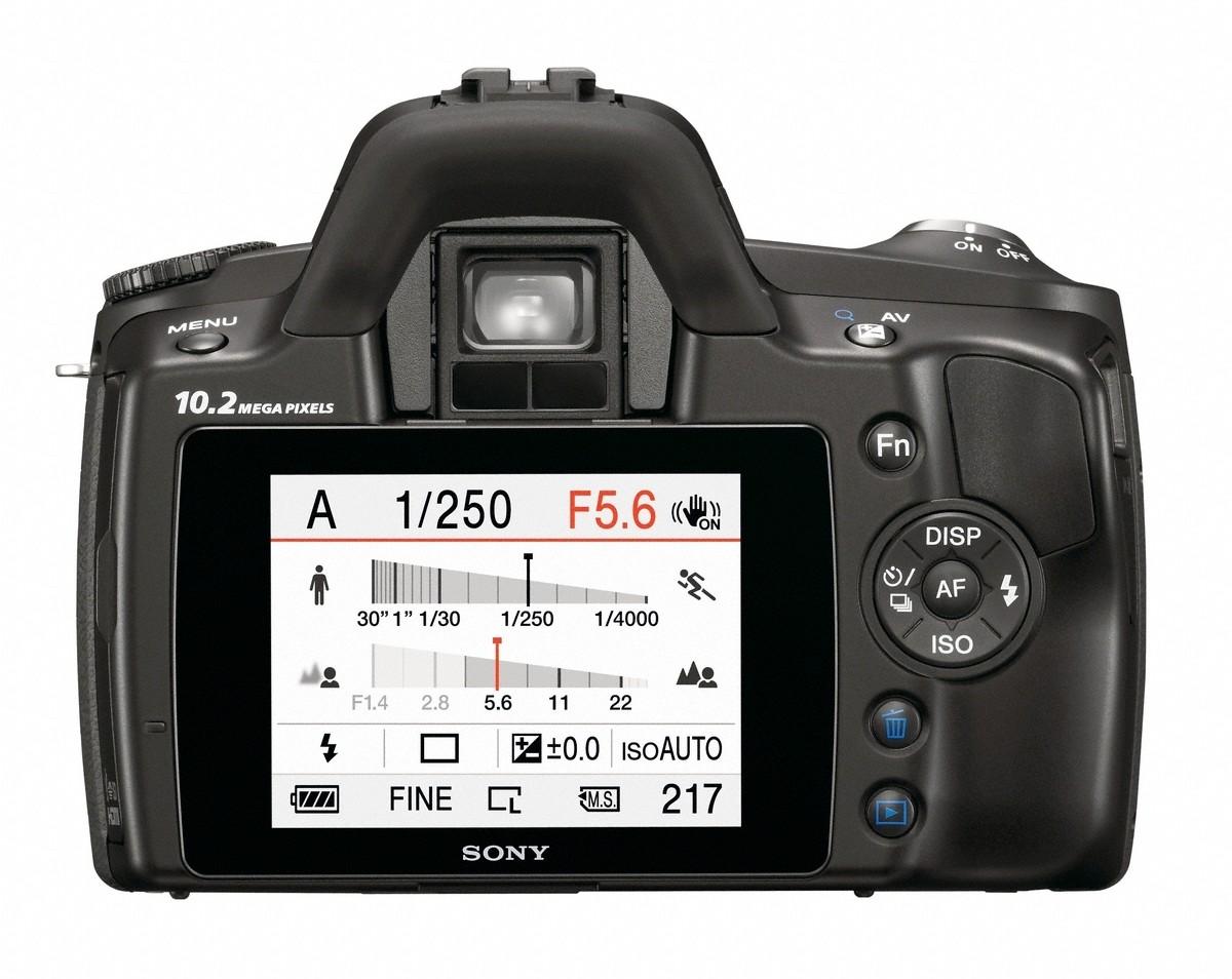 Sony mit drei neuen Spiegelreflexkameras für Einsteiger - Sony DSLR-A230