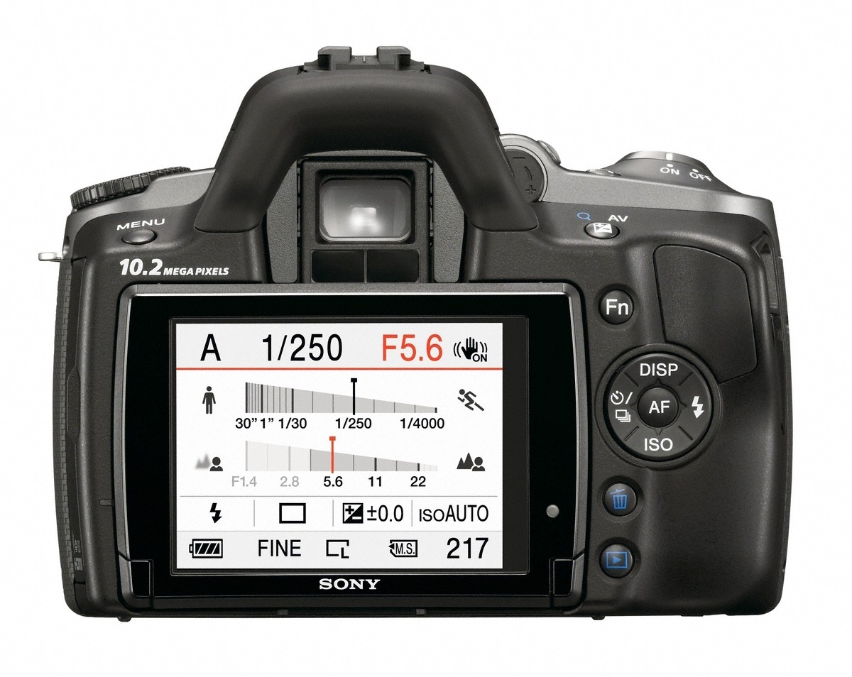 Sony mit drei neuen Spiegelreflexkameras für Einsteiger - Sony DSLR-A330