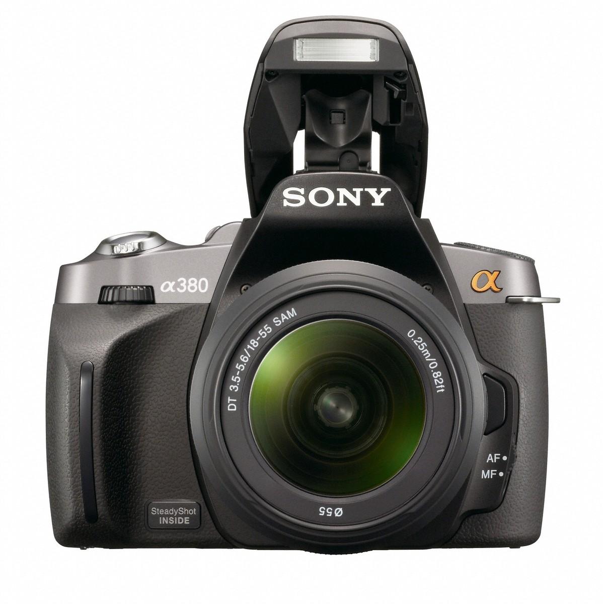 Sony mit drei neuen Spiegelreflexkameras für Einsteiger - Sony DSLR-A380