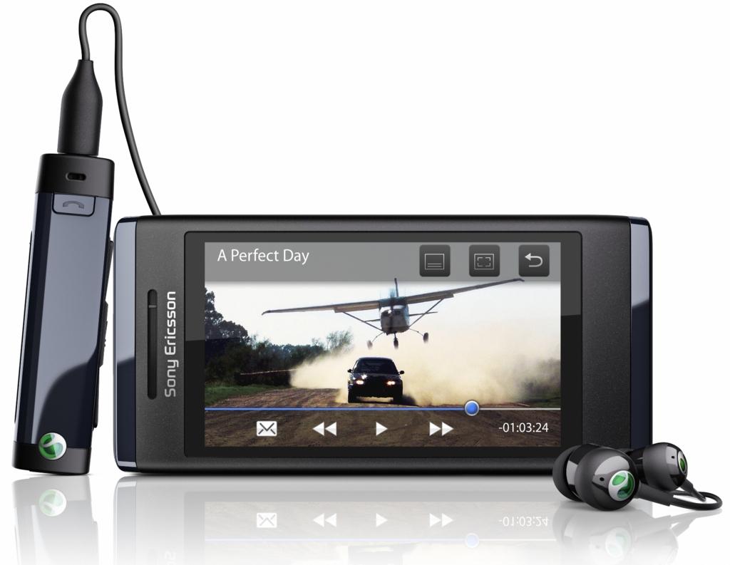 Sony Ericsson U10i Aino μαύρο touch