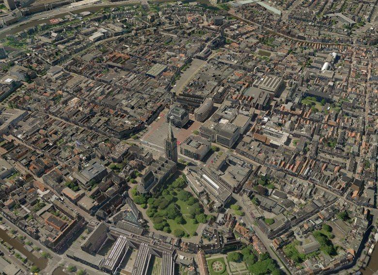 3D-Karten von Tele Atlas für Navigationsgeräte - Groningen