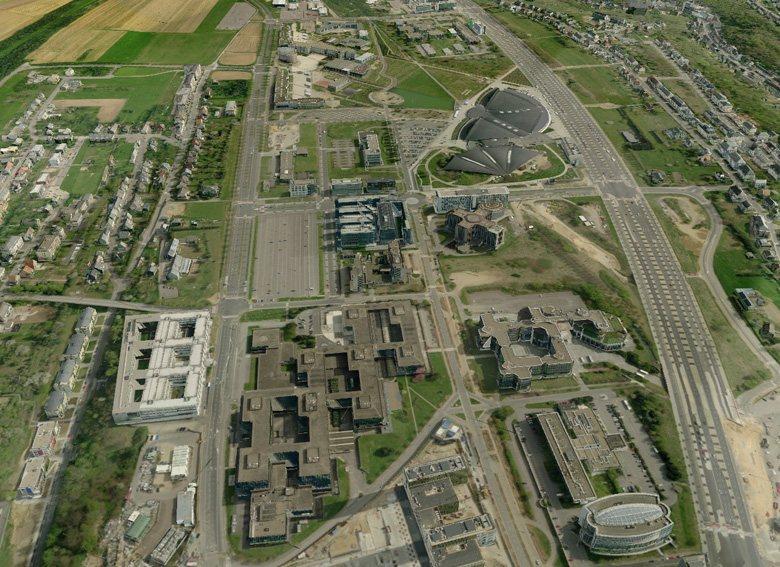3D-Karten von Tele Atlas für Navigationsgeräte - Luxemburg