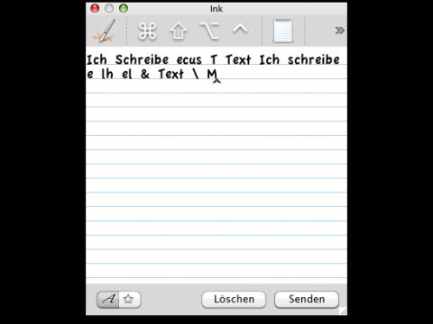 """""""Ich schreibe einen Text"""" - nur mit Übung gelingt es, brauchbare Ergebnisse zu erzielen."""