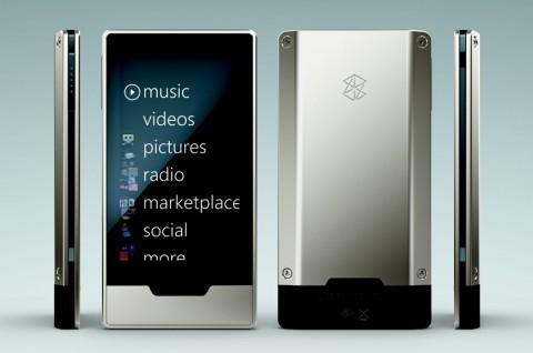 Der neue Zune HD mit Touchsceen