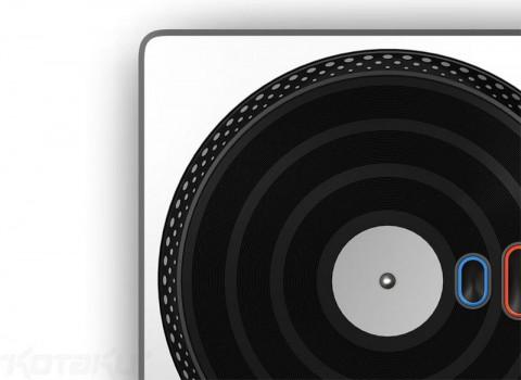 Eingabegerät für DJ Hero