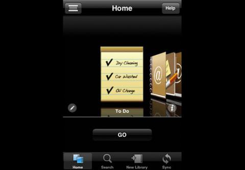 Bento für iPhone und iPod touch - Vorlagen